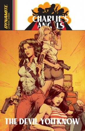 CHARLIES ANGELS VOLUME 1 THE DEVIL YOU KNOW GRAPHIC NOVEL