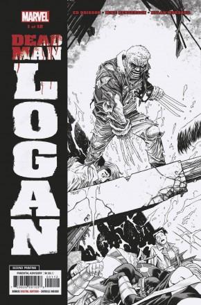 DEAD MAN LOGAN #1 2ND PRINTING