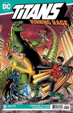 TITANS BURNING RAGE #5
