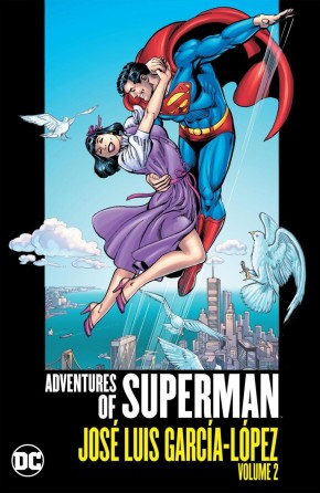 ADVENTURES OF SUPERMAN JOSE LUIS GARCIA LOPEZ VOLUME 2 HARDCOVER