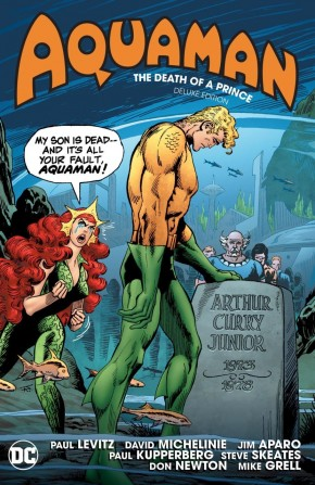 AQUAMAN THE DEATH OF A PRINCE DELUXE EDITION HARDCOVER