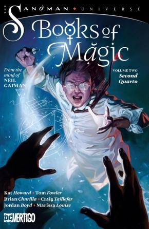 BOOKS OF MAGIC VOLUME 2 SECOND QUARTO GRAPHIC NOVEL