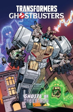 TRANSFORMERS GHOSTBUSTERS VOLUME 1 GHOSTS OF CYBERTRON GRAPHIC NOVEL