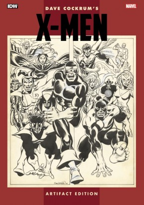 DAVE COCKRUM X-MEN ARTIFACT EDITION HARDCOVER