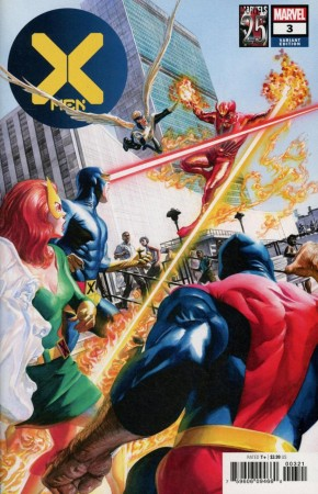 X-MEN #3 (2019 SERIES) ALEX ROSS MARVELS 25TH VARIANT