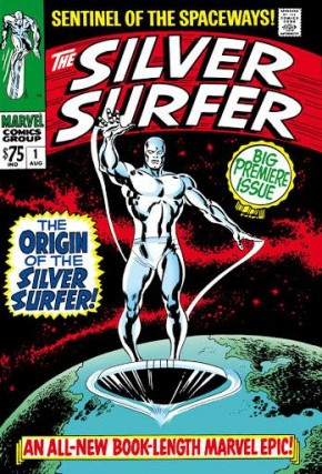 SILVER SURFER OMNIBUS VOLUME 1 HARDCOVER (NEW CORRECTED 2020 PRINTING)