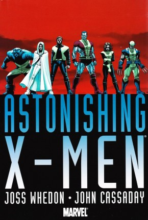 ASTONISHING X-MEN WHEDON CASSADAY OMNIBUS VOLUME 1 HARDCOVER