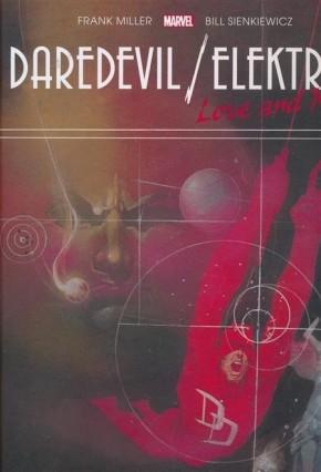 DAREDEVIL ELEKTRA LOVE AND WAR GALLERY EDITION HARDCOVER