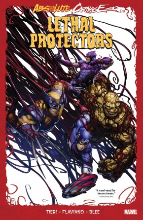 ABSOLUTE CARNAGE LETHAL PROTECTORS GRAPHIC NOVEL