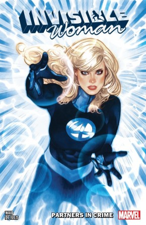 INVISIBLE WOMAN PARTNERS IN CRIME GRAPHIC NOVEL