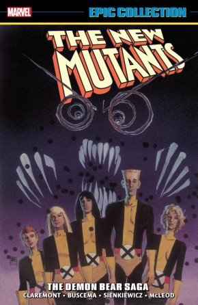 NEW MUTANTS EPIC COLLECTION DEMON BEAR SAGA DM VARIANT EDITION GRAPHIC NOVEL