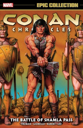 CONAN CHRONICLES EPIC COLLECTION THE BATTLE OF SHAMLA PASS GRAPHIC NOVEL