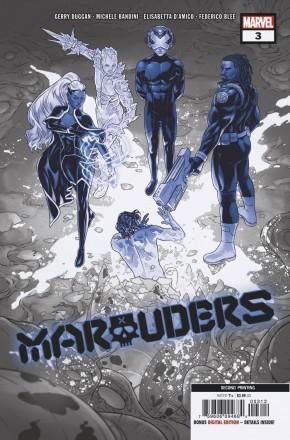MARAUDERS #3 (2019 SERIES) 2ND PRINTING