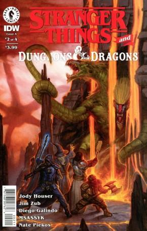 STRANGER THINGS D&D CROSSOVER #2