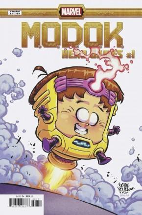 MODOK HEAD GAMES #1 SKOTTIE YOUNG BABY VARIANT COVER