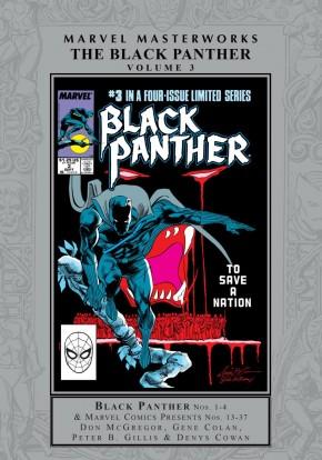 MARVEL MASTERWORKS BLACK PANTHER VOLUME 3 HARDCOVER