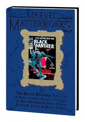 MARVEL MASTERWORKS BLACK PANTHER VOLUME 3 DM VARIANT #303 EDITION HARDCOVER
