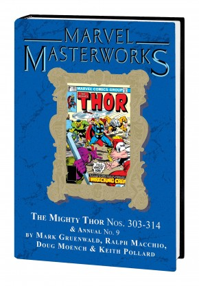 MARVEL MASTERWORKS THE MIGHTY THOR VOLUME 20 DM VARIANT #304 EDITION HARDCOVER