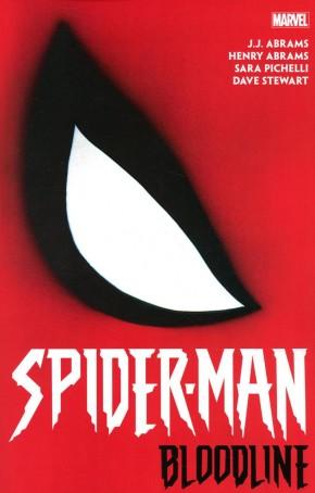 SPIDER-MAN BLOODLINE GRAPHIC NOVEL CHIP KIDD DM VARIANT COVER