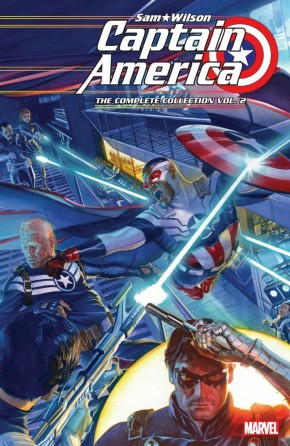 CAPTAIN AMERICA SAM WILSON THE COMPLETE COLLECTION VOLUME 2 GRAPHIC NOVEL