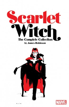 SCARLET WITCH BY JAMES ROBINSON THE COMPLETE COLLECTION GRAPHIC NOVEL