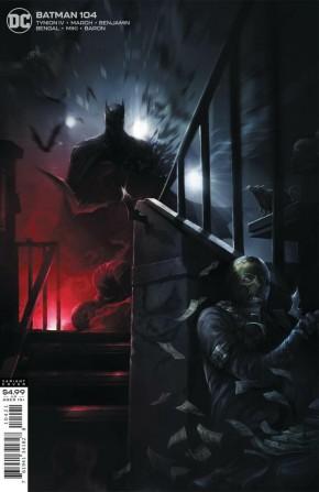 BATMAN #104 (2016 SERIES) FRANCESCO MATTINA CARD STOCK VARIANT