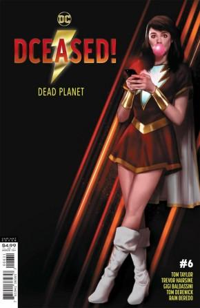 DCEASED DEAD PLANET #6 BEN OLIVER MOVIE HOMAGE CARD STOCK VARIANT