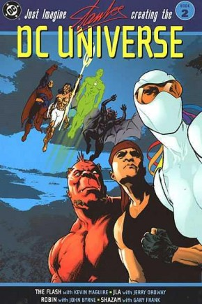 JUST IMAGINE STAN LEE CREATING THE DC UNIVERSE BOOK 2 GRAPHIC NOVEL