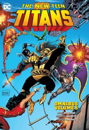 NEW TEEN TITANS OMNIBUS VOLUME 5 HARDCOVER