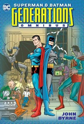 SUPERMAN BATMAN GENERATIONS OMNIBUS HARDCOVER