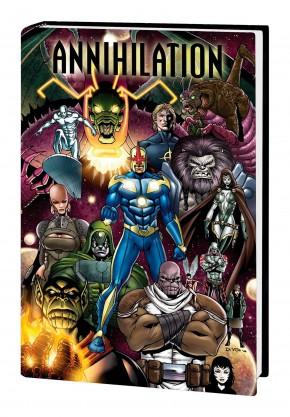 ANNIHILATION OMNIBUS HARDCOVER ANDREA DI VITO DM VARIANT COVER