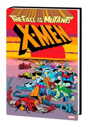 X-MEN FALL OF THE MUTANTS OMNIBUS HARDCOVER ALAN DAVIS COVER