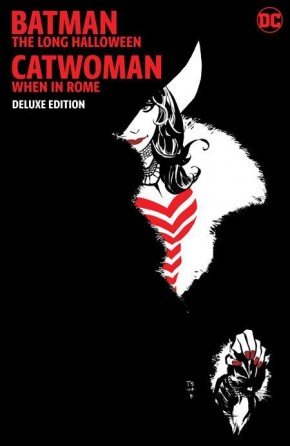 BATMAN THE LONG HALLOWEEN CATWOMAN WHEN IN ROME DELUXE EDITION HARDCOVER