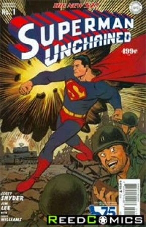 Superman Unchained #1 (75th Anniversary Golden Age 1 in 75 Variant Cover)