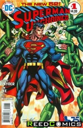 Superman Unchained #1 (75th Anniversary Bronze Age 1 in 50 Variant Cover)