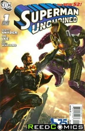 Superman Unchained #1 (75th Anniversary Luthor 1 in 25 Variant Cover)