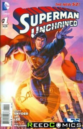 Superman Unchained #1 (75th Anniversary New 52 Variant Cover)