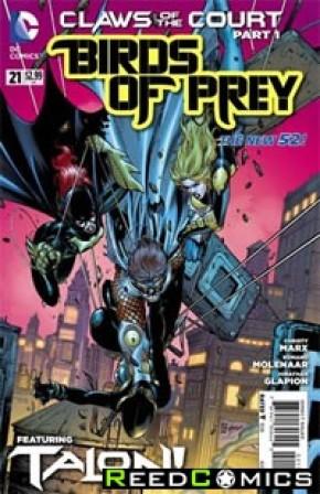 Birds of Prey Volume 3 #21