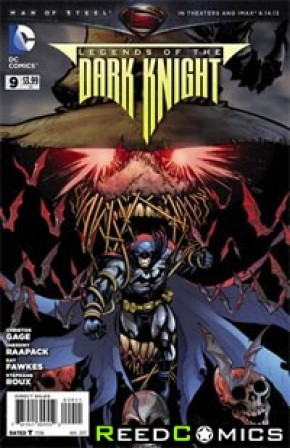 Legends of the Dark Knight (2012) #9