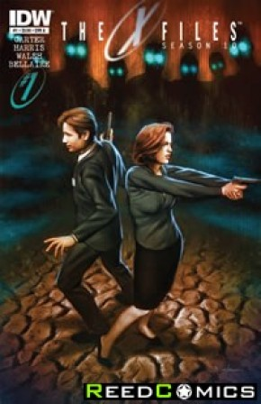 X-Files Season 10 #1 (Cover A - 1st Print)