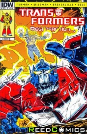 Transformers Regeneration One #92 (Cover B)