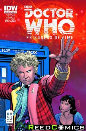 Doctor Who Prisoners of Time #6 (1 in 10 Incentive Variant Cover)