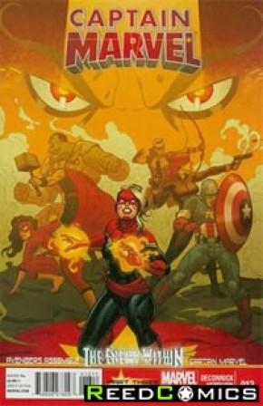 Captain Marvel Volume 6 #13