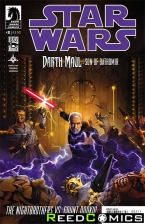 Star Wars Darth Maul Son of Dathomir #2