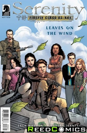Serenity Leaves on the Wind #6 (Variant Cover)