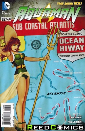 Aquaman Volume 5 #32 (Bombshells Variant Edition)