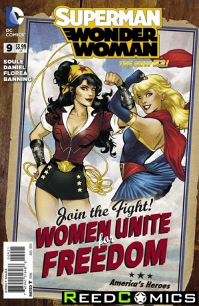 Superman Wonder Woman #9 (Bombshells Variant Edition)