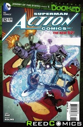 Action Comics Volume 2 #32