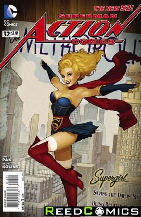 Action Comics Volume 2 #32 (Bombshells Variant Edition)