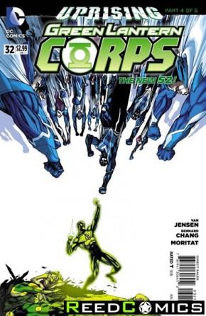 Green Lantern Corps Volume 3 #32